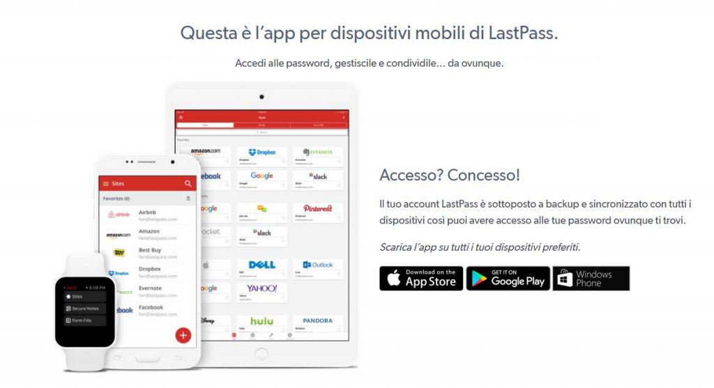 lastpass chrome